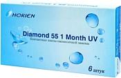 Horien Diamond 55 1 Month UV -3.75 дптр 8.6 mm