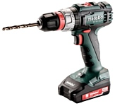 metabo BS 18 L Quick 2.0Ач х2 кейс