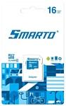 Smarto microSDHC Class 10 16GB + SD adapter