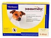 Virbac Эффитикс капли для собак 5-10 кг