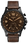 FOSSIL Hybrid Smartwatch Q Nate (leather)