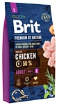 Brit (8 кг) Premium by Nature Adult S