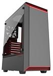 Phanteks Eclipse P300 Tempered Glass Black/red