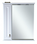 Misty Шкаф с зеркалом Лувр 75 L (Белый)