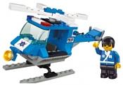 SLUBAN Городская серия M38-B0175 Police Helicopter