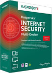 Kaspersky Internet Security 2015 Multi-Device (3 ПК, 1 год, базовый)