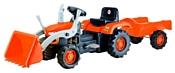 Dolu Трактор-экскаватор с прицепом (8052)