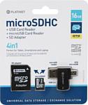 Platinet PMMSD16CR4 16GB + SD adapter