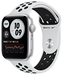 Apple Watch SE GPS 44mm Aluminum Case with Nike Sport Band