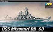 Academy Kорабль USS Missouri BB-6314222 1/700 14222