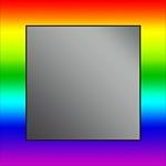 Dubiel Vitrum Tesza 65x65 зеркало (590524100923)