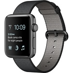 Apple Watch Series 2 42mm Space Gray with Black Woven Nylon (MP072)