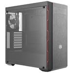 Cooler Master MasterBox MB600L (B600L-KA5N-S00) w/o PSU Black/red