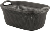 Keter Knit Laundry Basket STD 40L (темно-коричневый)