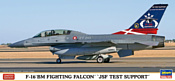 Hasegawa Истребитель F-16BM Fighting Falcon Test Support