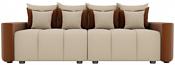 Лига диванов Бристоль 100174 (бежевый/коричневый)
