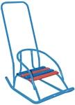 Скользяшки Кукольные-2 с толкателем (голубой)
