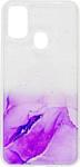 EXPERTS Aquarelle для Samsung Galaxy M31 (фиолетовый)