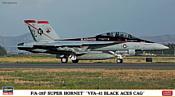 Hasegawa Истребитель FA18F Super Hornet VFA41 Black Aces