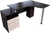 Компас мебель КС-003-24 (венге темный/дуб молочный)