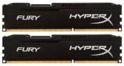 HyperX HX318C10FBK2/8