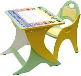 Интехпроект Столик-парта-мольберт. Буквы-цифры. (14-327)