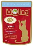 Molina Пауч для кошек Тунец в желе (0.1 кг) 24 шт.