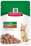 Hill's (0.085 кг) 1 шт. Science Plan Kitten Healthy Development with Turkey Pouch