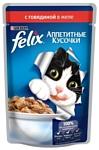 Felix (0.085 кг) 24 шт. Аппетитные кусочки с Говядиной в желе