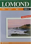 Lomond Матовая двухстороняя А3 170 г/кв.м. 100 листов (0102012)