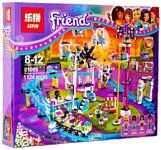 Lepin Friends 01008 Американские горки в парке развлечений аналог Lego 41130