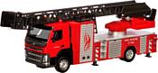 Автопанорама Volvo Пожарная машина JB1251185 (красный)