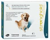 Zoetis (Pfizer) капли от блох и клещей Стронгхолд для собак и щенков 1шт. в уп.