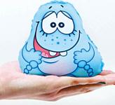 Союз производителей игрушек Игрушка-мочалка растущая в воде Капитошка (голубой)