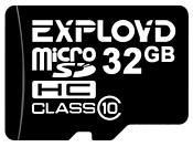 EXPLOYD microSDHC Class 10 32GB