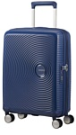 American Tourister Soundbox Midnight Navy 55 см