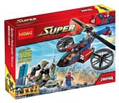 Decool Super Heroes 7106 Вертолет человека-паука