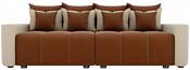 Лига диванов Бристоль 100176 (коричневый/бежевый)