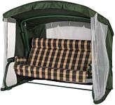 Удачная мебель Мерида премиум с подголовником (зеленый 334)