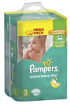 Pampers Active Baby-Dry 3 Midi (152 шт.)