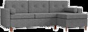 Mebelico Белфаст 59067 (рогожка, серый)