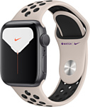 Apple Watch Series 5 40mm GPS Aluminum Case with Nike Sport Band