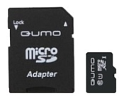 Qumo microSDXC Class 10 UHS Class 1 128GB + SD adapter
