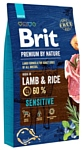 Brit (8 кг) Premium by Nature Sensitive Lamb & rice