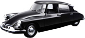 Bburago Citroen DS19 1955 18-43204 (черный)