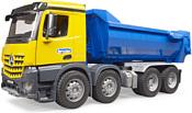 Bruder Mercedes-Benz Arocs Halfpipe dump truck 03623