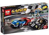 Lepin Speed Champions 28004 Ford GT и 1966 Ford GT40