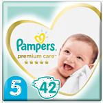 Pampers Premium Care 5 Junior (11-16 кг), 42 шт