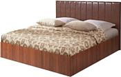 МебельПарк Аврора 1 200x160 (коричневый)
