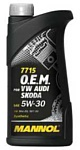 Mannol O.E.M. for VW Audi Skoda 5W-30 1л